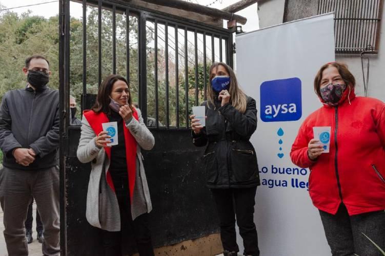 Malena Galmarini inauguró junto una red de agua potable para más de 8.000 vecinos de El Talar