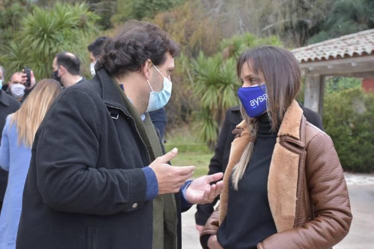 Club EcoSol: Malena Galmarini y Juan Debandi recorrieron el predio recuperado