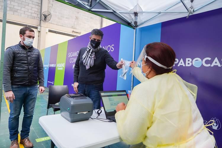 Vicente López profundiza la detección temprana del COVID mediante sus centros de testeos