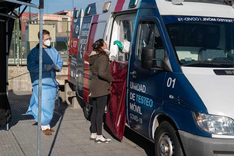 La Unidad de Testeo Móvil de hisopados para Covid-19 estará en Villa Adelina