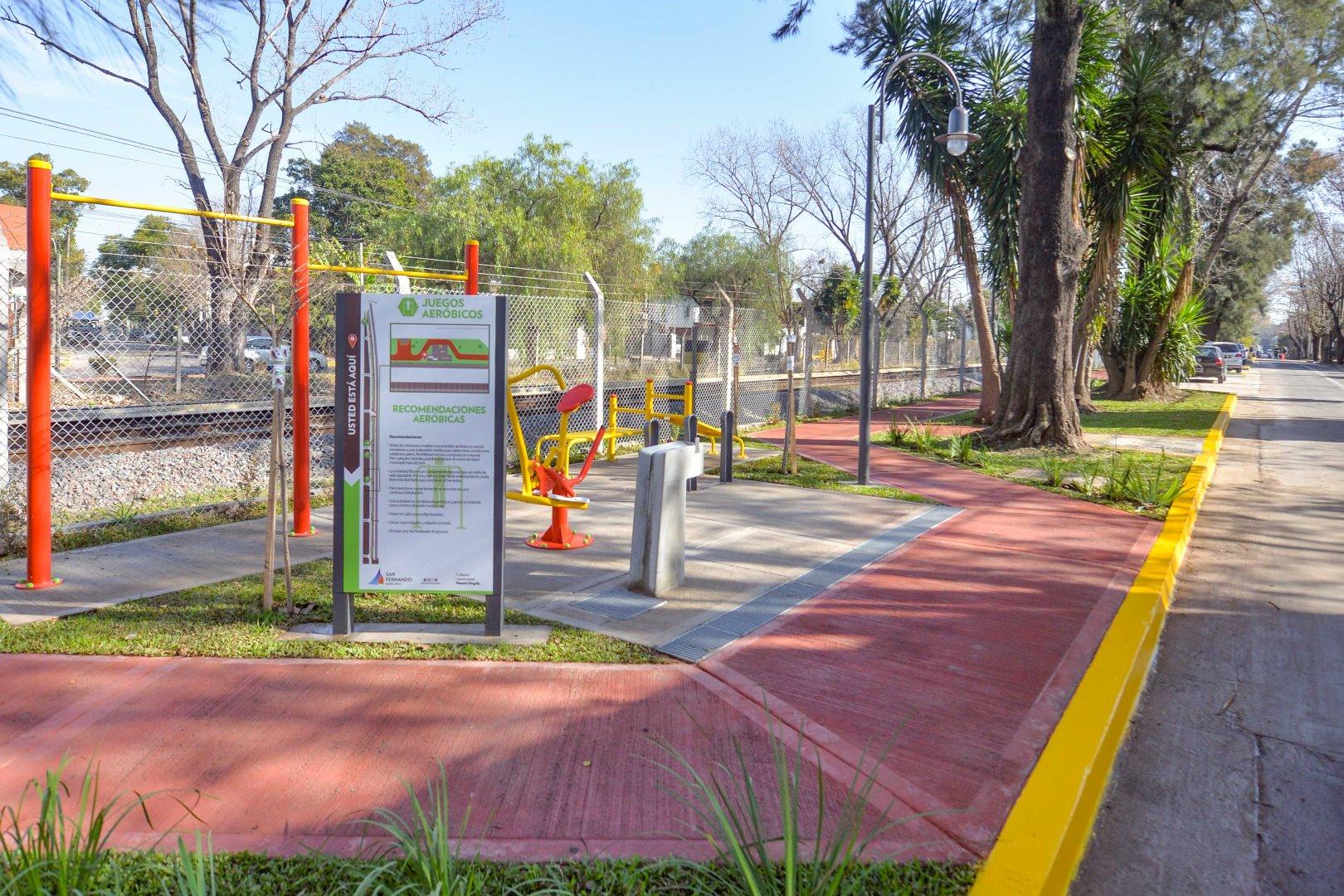"Inauguraron en San Fernando el nuevo Paseo ""Ministro Mario Meoni"""