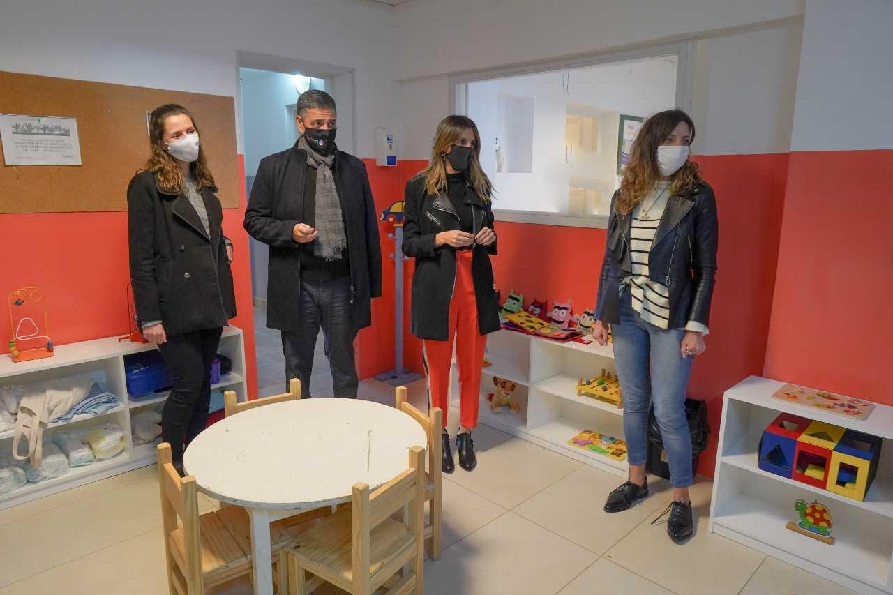 Vicente López finalizó las obras en el Centro Acer Conin votata en el presupuesto participativo