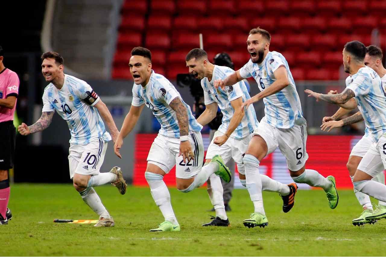 Argentina finalista de la Copa América al vencer a Colombia por penales