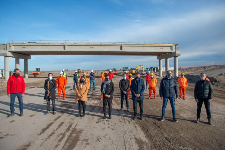 Kicillof anunció nuevas obras sobre la avenida Circunvalación Norte de Bahía Blanca