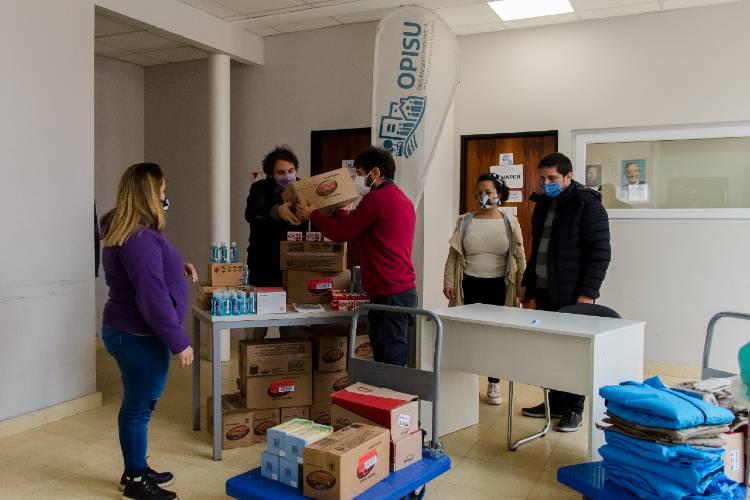 Provincia gestionó donaciones de embajadas y empresas para barrios populares