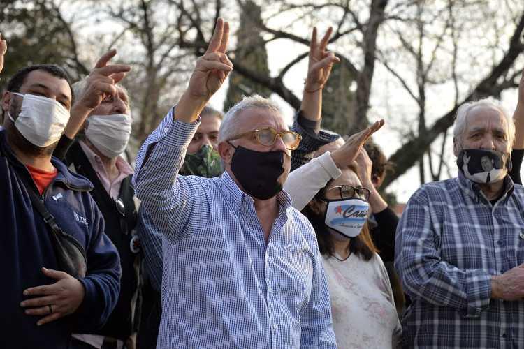 Julio Zamora recibió el respaldo de Dirigentes del Frente de Todos Tigre