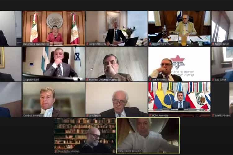 En Vivo: Sergio Massa, junto a entidades judías y parlamentarios de la región, recibe al congreso latinoamericano contra el terrorismo