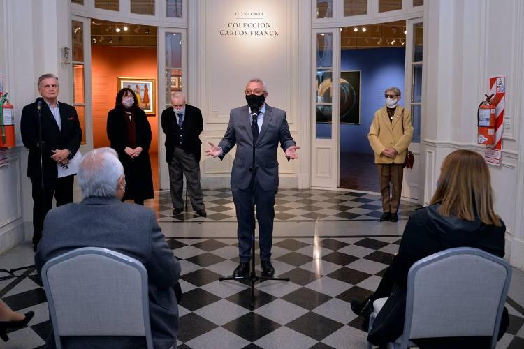 El Museo de Arte Tigre inauguró una muestra con obras donadas por el coleccionista Carlos Franck