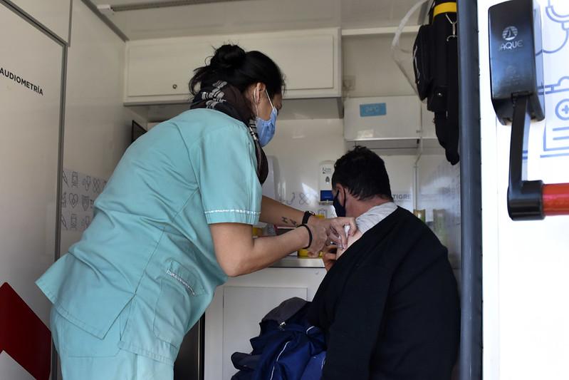 Vacuna coronavirus en Tigre