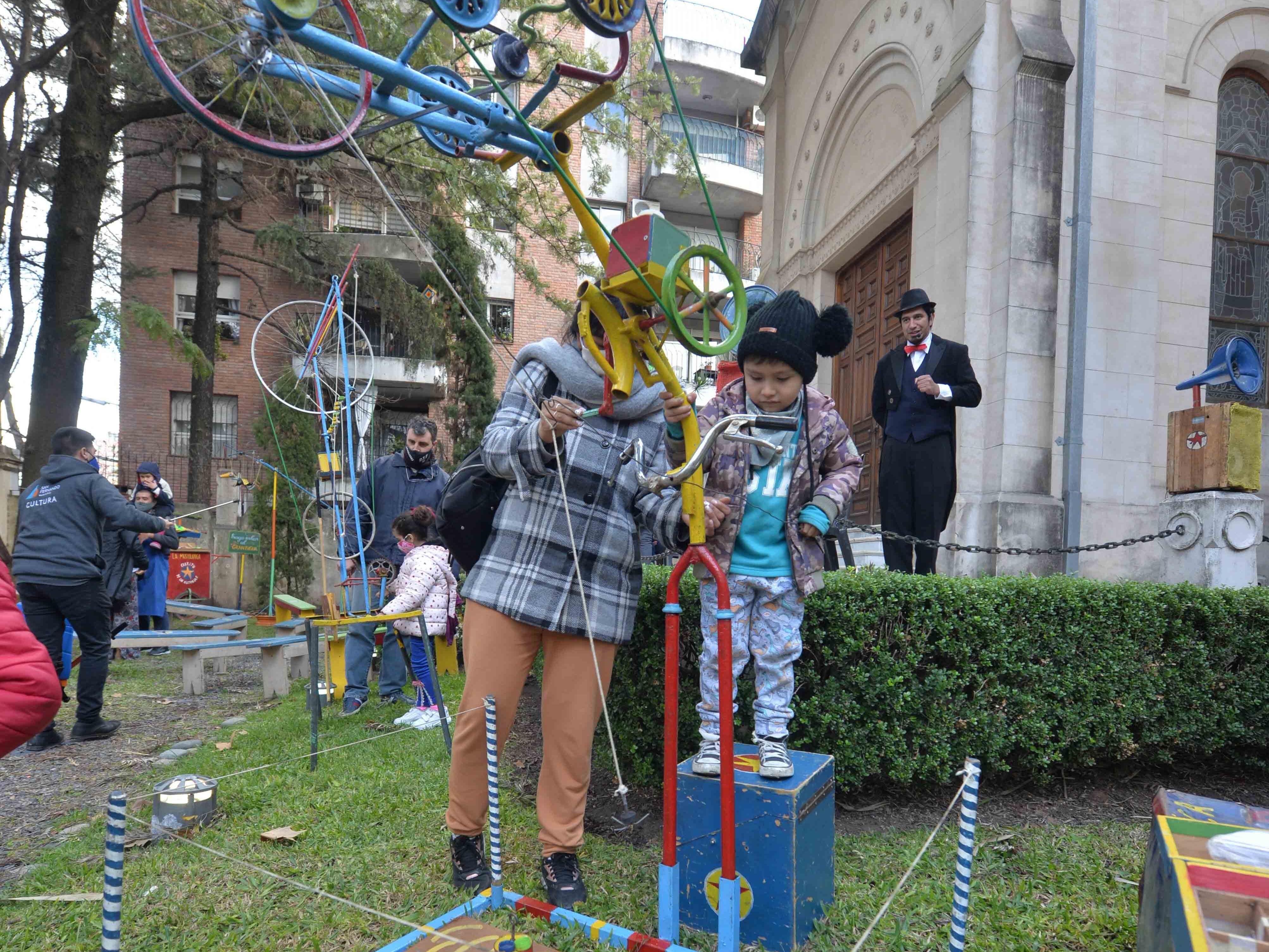 Comenzaron en San Fernando los espectáculos infantiles de Vacaciones de Invierno