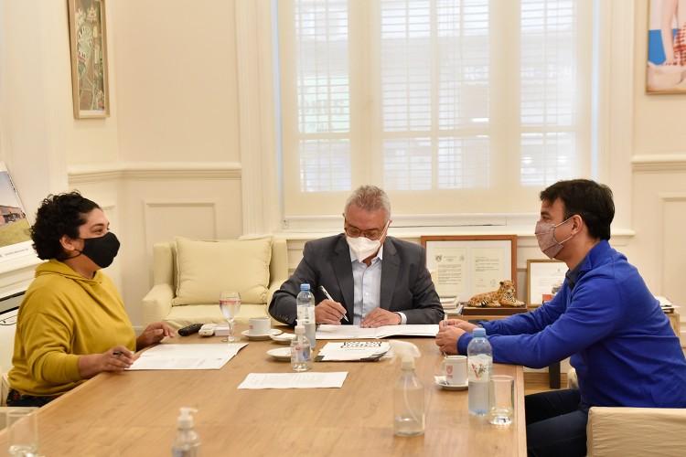 El Municipio de Tigre y la UTEP acordaron fortalecer el trabajo de las cooperativas locales