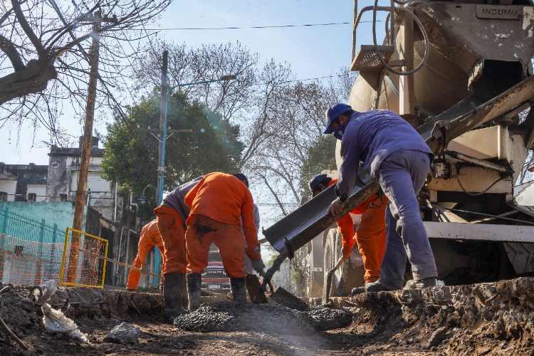Avanza la obra hidráulica en Florida Oeste que beneficiará a más de 50 mil vecinos