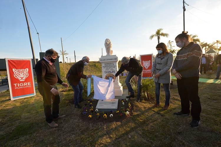 En Pacheco inauguran un monumento en homenaje a los fallecidos Covid-19