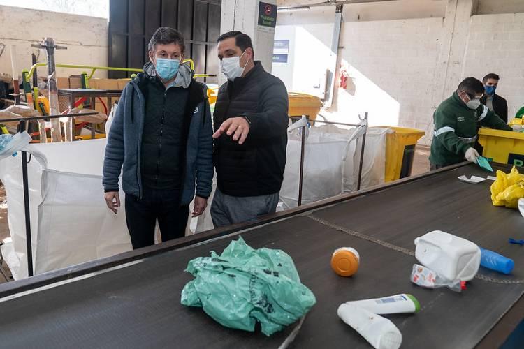 San Isidro alcanzó una cifra récord de reciclables procesados en su planta