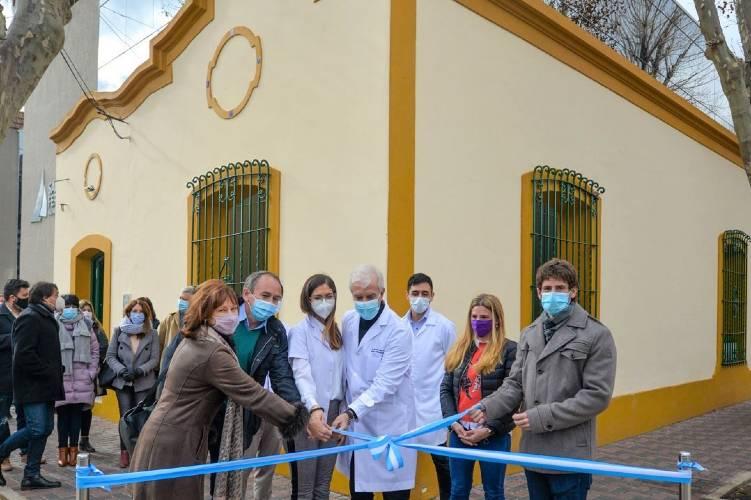Juan Andreotti inauguró la ampliación del Hospital Oftalmológico de San Fernando