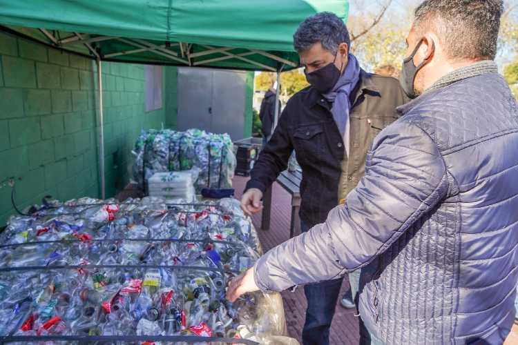 Vicente López alcanzó récord de recolección de reciclables desde su creación
