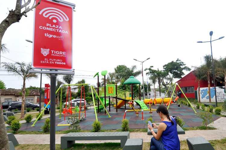 Tigre pone a disposición puntos gratuitos de conectividad WiFi para estudiantes