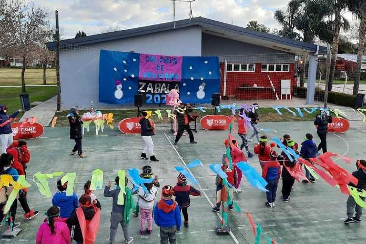 Más de 1.500 chicos y chicas disfrutaron de las colonias de invierno en Tigre