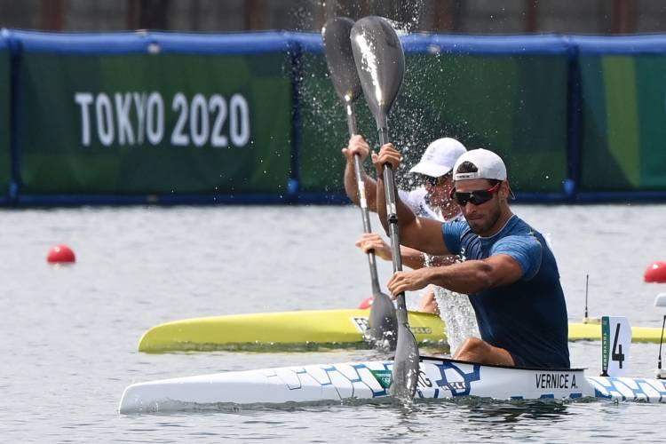 Agustín Vernice cumple su objetivo e ingresa a final A del K1 1000 metros de canotaje en Tokio