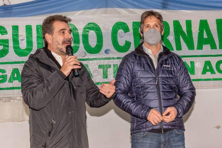 Ritondo y Cernadas presentaron los candidatos de Juntos en Tigre