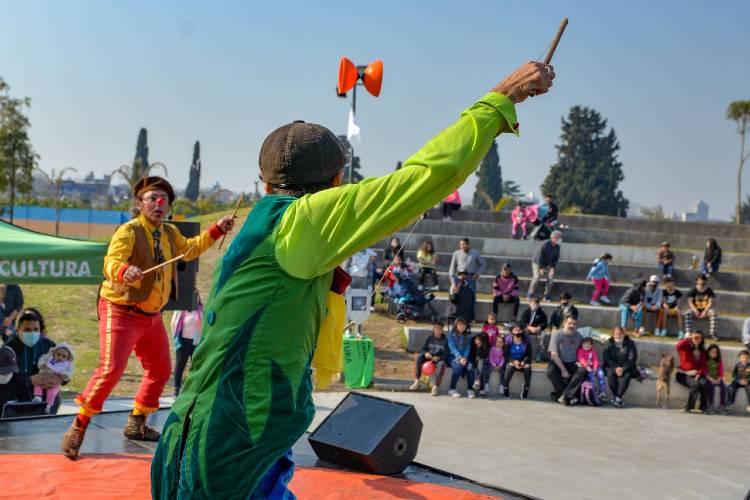 San Fernando realizó el cierre de Vacaciones de Invierno en el Parque del Bicentenario