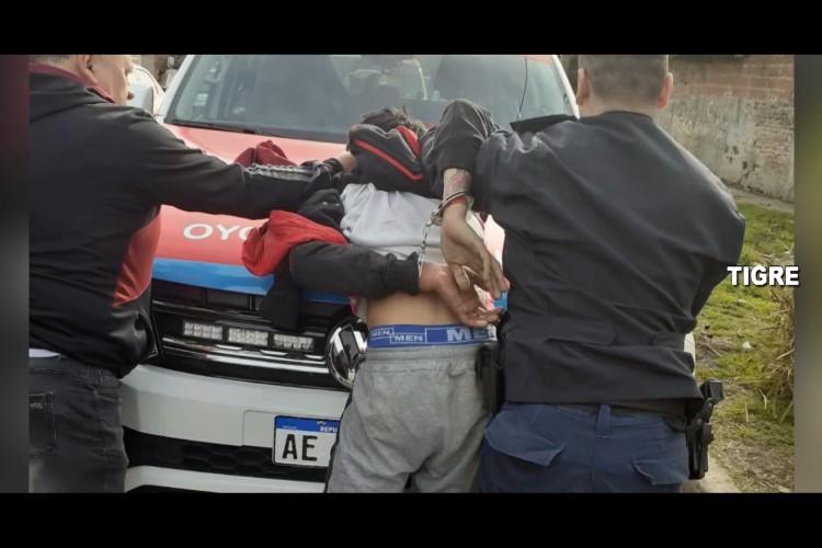 Robó una moto a mano armada en Tigre y lo detuvieron en una impactante persecución