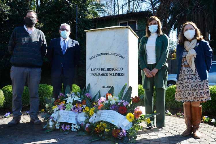 Tigre conmemoró su día, a 215 años del desembarco de Santiago de Liniers