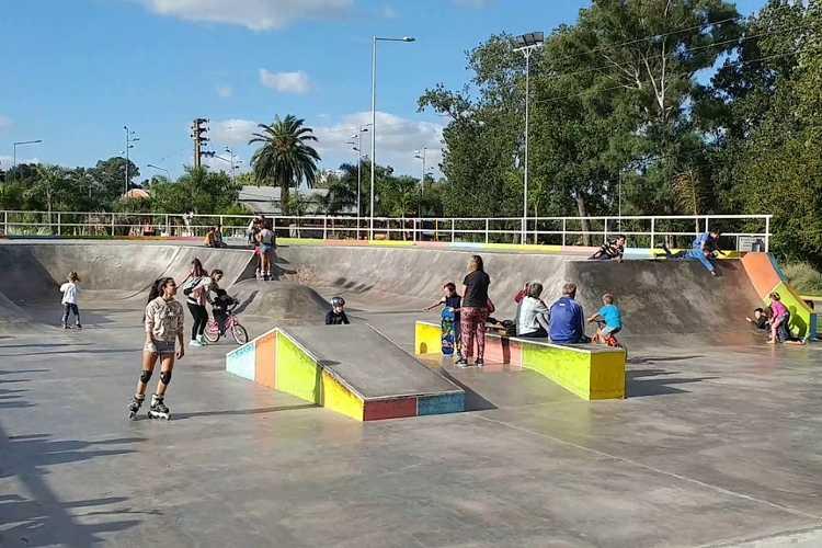 Chamical Compactación S.A realizará la puesta en valor del Skatepark de Tigre
