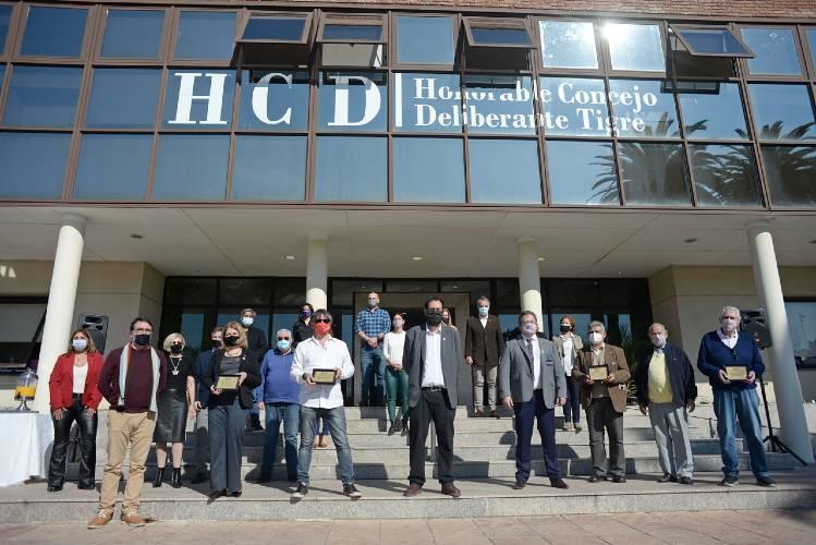El HCD de Tigre homenajeó a los Clubes Rotarios