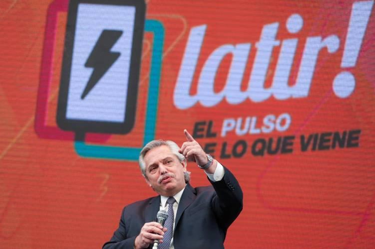 El Presidente Alberto Fernández lanzó el plan plan Argentina Programa desde Tecnópolis