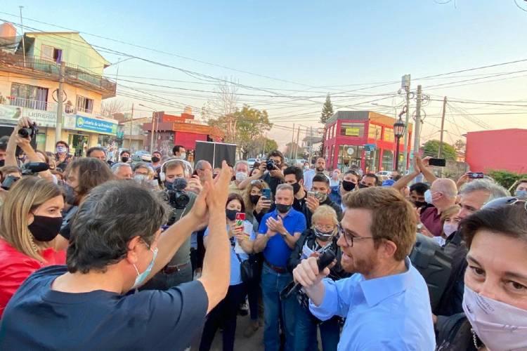 """Nicolás Massot arrancó con todo la campaña que """"decidirá qué oposición quiere el vecino de Tigre"""""""