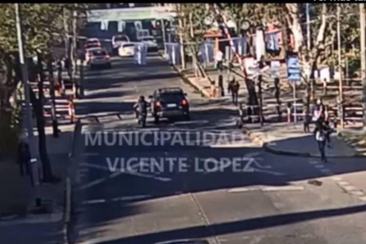 Murió el hombre atropellado por un abogado durante una discusión tránsito en Vicente López