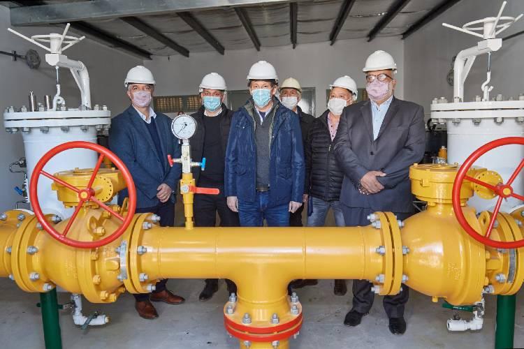Naturgy puso en servicio una nueva planta reguladora en Beccar en el Partido de San Isidro