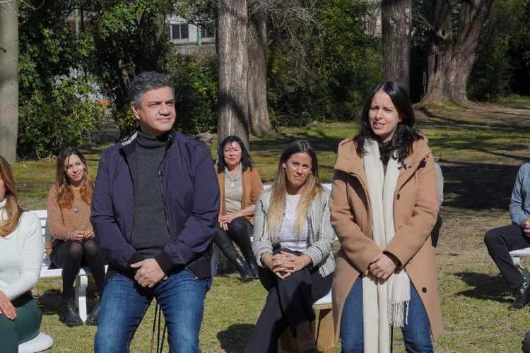 """Jorge Macri presentó a los precandidatos a concejales de """"Juntos"""" de Vicente López"""
