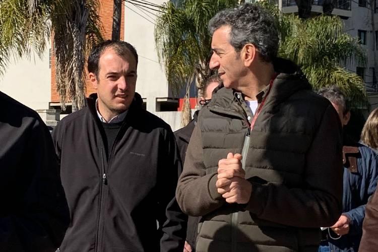 Randazzo se reunió con sus principales candidatos en Tigre