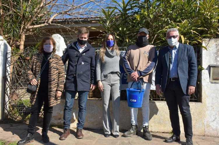 AySA habilitó una nueva red cloacal que beneficiará a más de 9800 vecinos de El Talar
