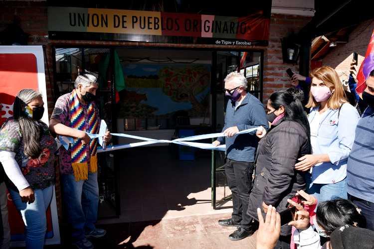 En el Puerto de Frutos inauguraron un nuevo local de la Unión de Pueblos Originarios de Tigre y Escobar