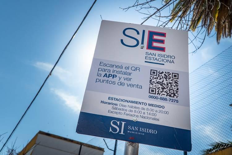 En San Isidro comenzó a funcionar el nuevo sistema de Estacionamiento Medido