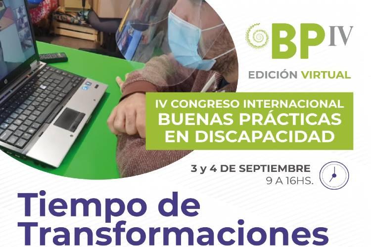 Se realizará en Vicente López el IV Congreso Internacional de Buenas Prácticas en Discapacidad