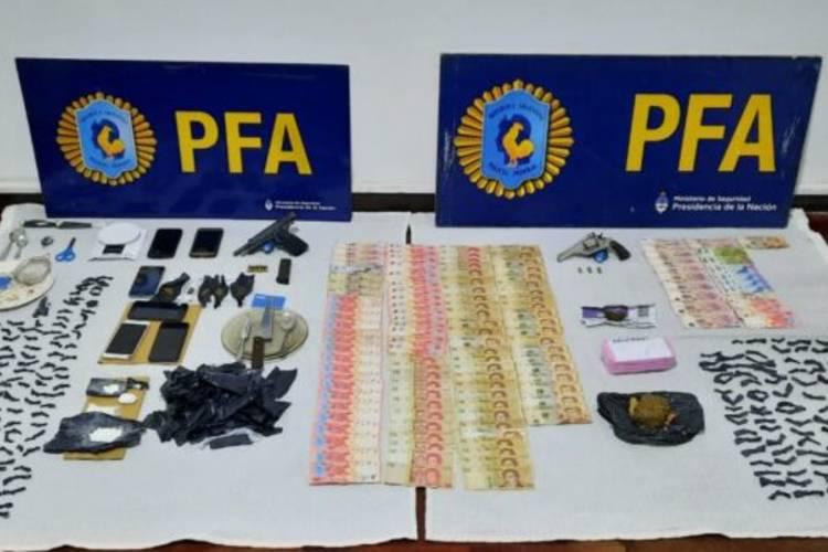 Ocho detenidos por comercialización de drogas en Tigre