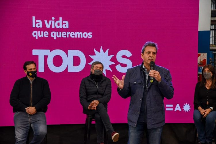 Sergio Massa, Frente de Todos, Tres de Febrero