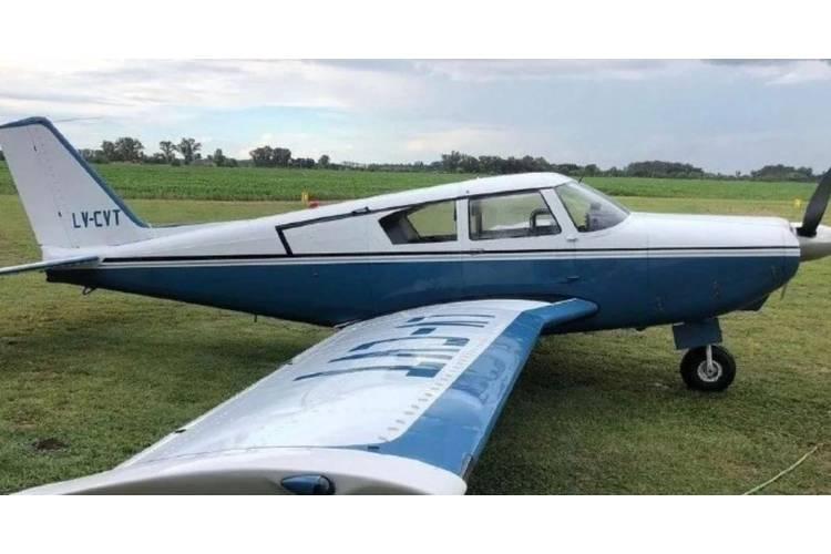 El avión, un Piper PA-24 Comanche matrícula LV- CVT, fue encontrado en la Sierra de las Ánimas