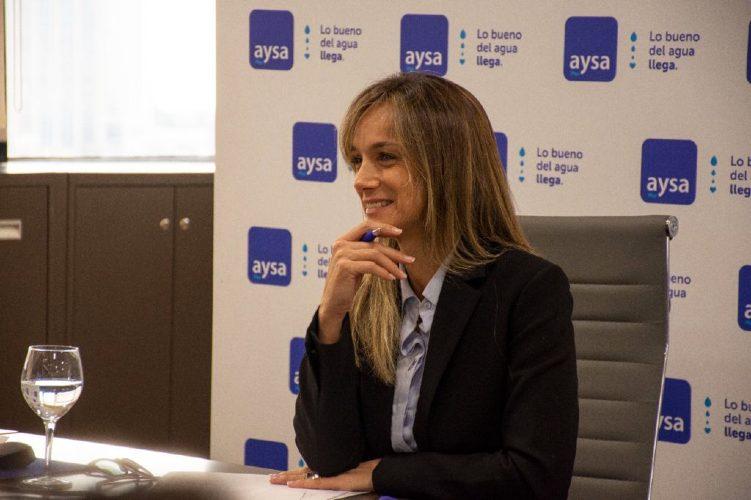 Malena Galmarini fue la oradora principal en la sesión del BID de la Semana Mundial del Agua de SIWI