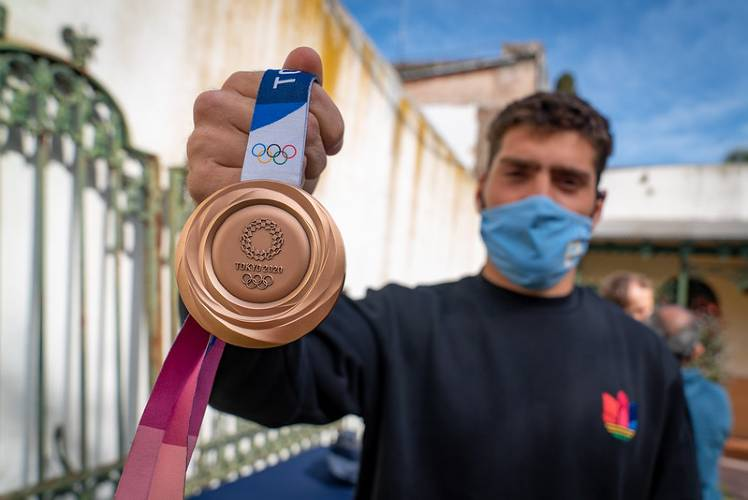 San Isidro agasajó a los atletas olímpicos que participaron de Tokio 2020