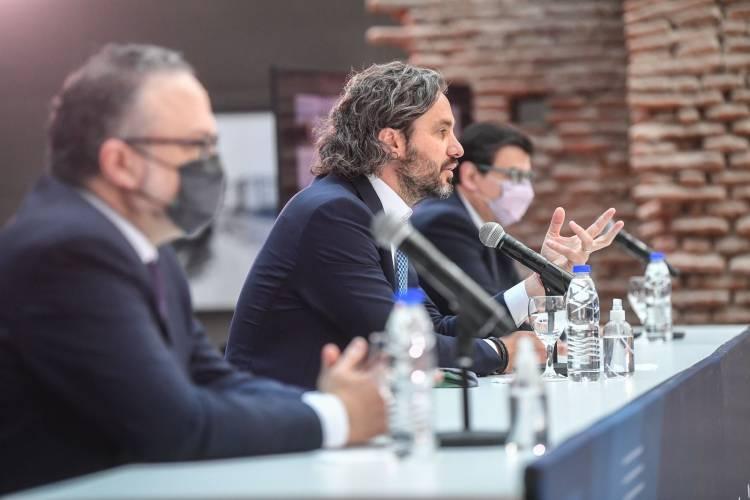 Santiago Cafiero, inauguró la primera edición del Congreso de la Productividad y el Trabajo