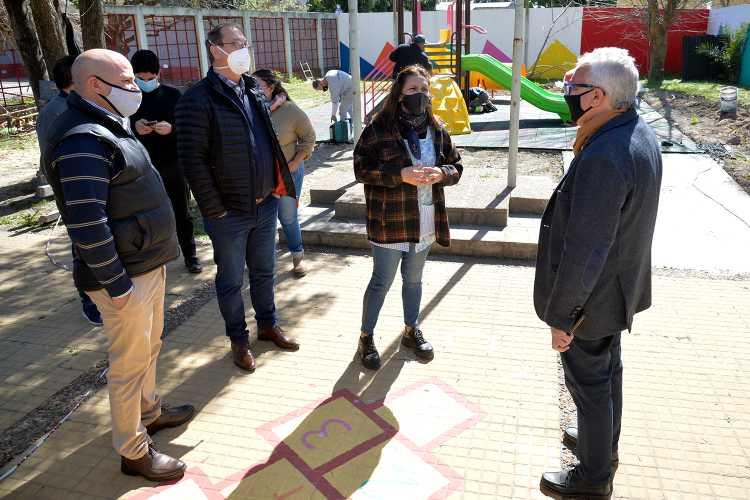 Tigre reacondicionó el jardín de infantes N° 926 de General Pacheco