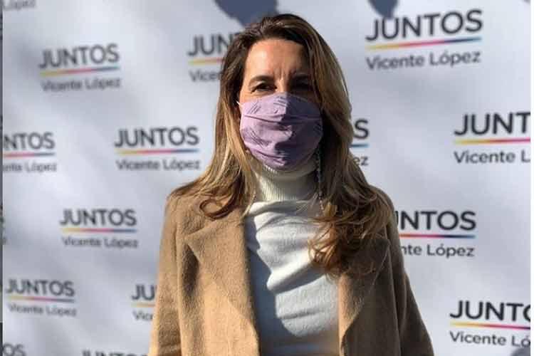 """Paola Spatola: """"La seguridad de Vicente López se puede comparar con la de un país desarrollado"""""""