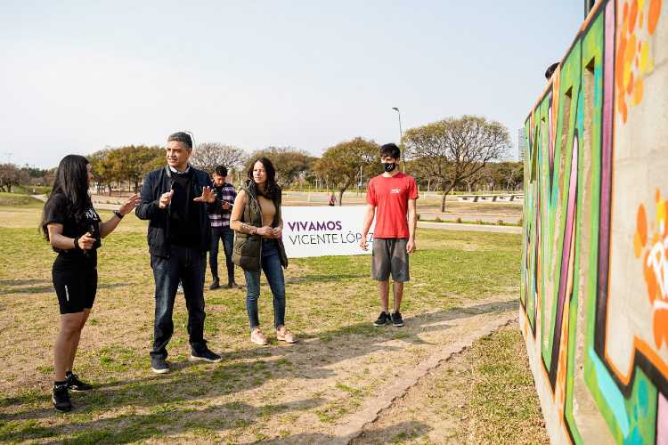 El Paseo de la Costa ya cuenta con un parque de parkour para deporte extremo