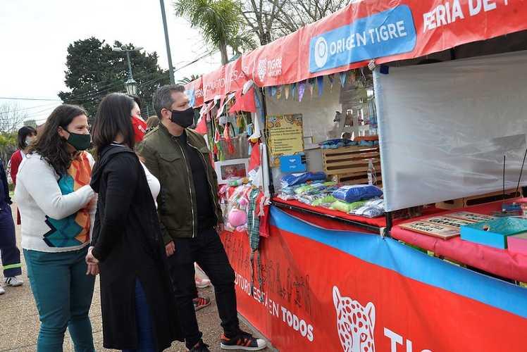 Las familias de Don Torcuato disfrutaron una nueva edición de la Feria Origen Tigre