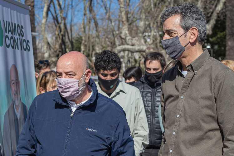Guillermo Poggi y Florencio Randazzo, PASO 2021